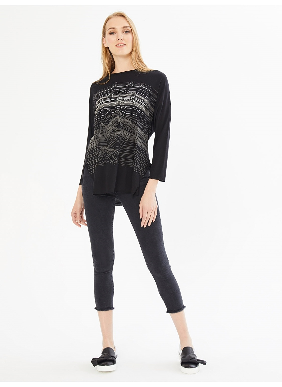 434b6acd8f032 Xint Kadın Tişört Siyah İndirimli Fiyat | Morhipo | 22214205